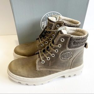 Palladium Pallabosse Hi Cuff Leather Hiking Boot 7